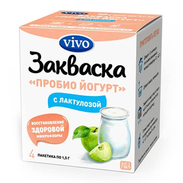 Пробио йогурт с лактулозой